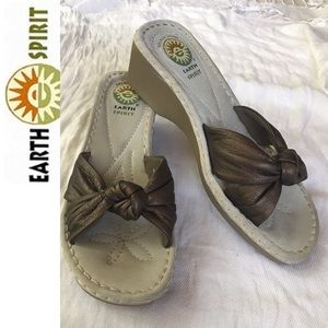 NYOP! Earth Spirit Wedges Size: 8.5